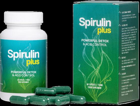 Spirulin Plus - tabletki na oczyszczenie i odkwaszenie organizmu